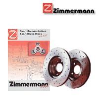 Zimmermann přední sportovní brzdové kotouče -vzduchem chlazené LADA 111  -motor 1.5, 1.5 16V -- rok výroby 10.00-
